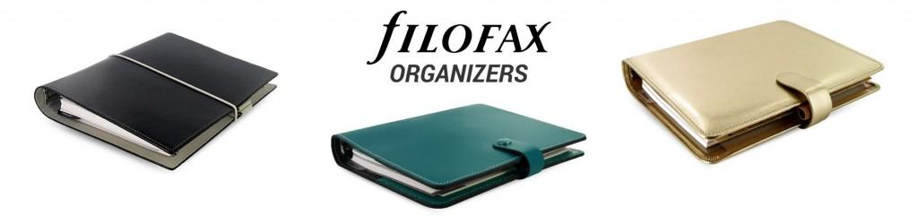red filofax planner