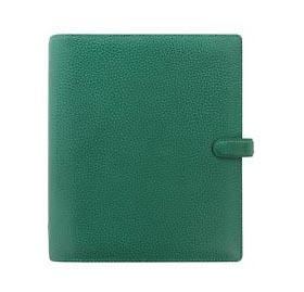 Filofax Finsbury Forest Green Leather Organizer A5 Size – 025446